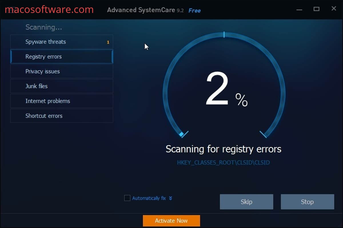 Advanced SystemCare Pro Key Download