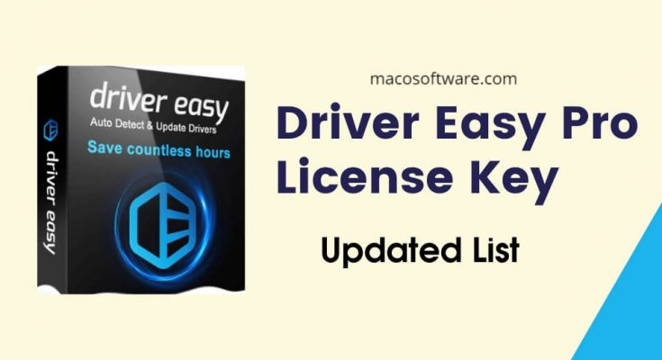 Driver Easy Professional Crack With Serial Key Download