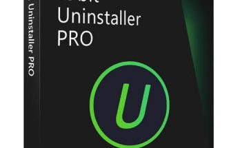 IObit Uninstaller Key Download With Working Crack Setup logo