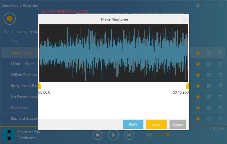 Cinch Audio Recorder Crack With License Key + Keygen