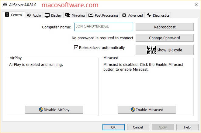 AirServer Free Activation Key