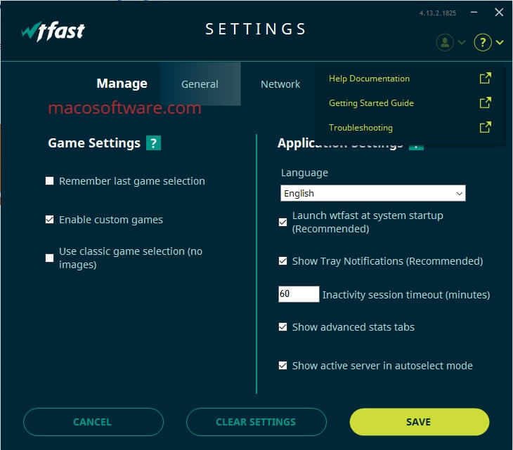 WTFAST activation key