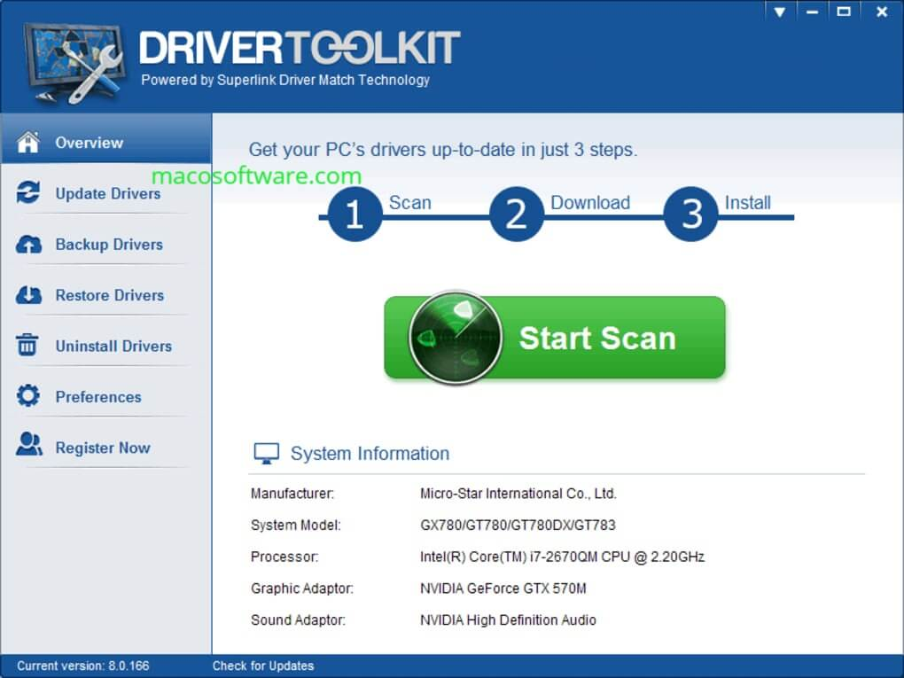 Driver Toolkit crack + license key